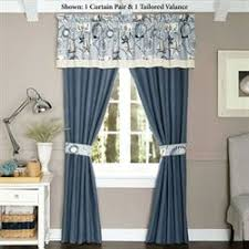 Nautical Window Curtains Themed Curtains Touch Of Class