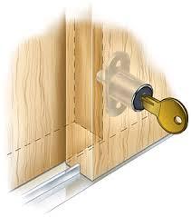 Closet Sliding Door Lock Sliding Door Push Lock Valley Tools