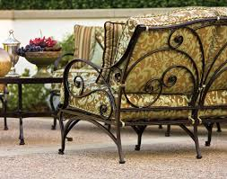 How To Paint Wrought Iron Patio Furniture by How To Clean And Store Your Patio Furniture Homeclick
