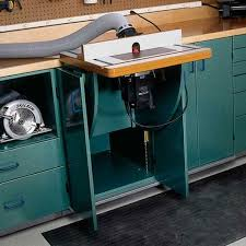 Building A Router Table by Woodworking Project Paper Plan To Build Lift Up Router U0026 Tool Table