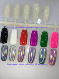 caixuan holographic pigment rainbow pigment laser effect powder