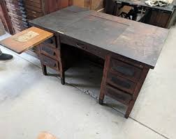 Secretarys Desk Desk Etsy
