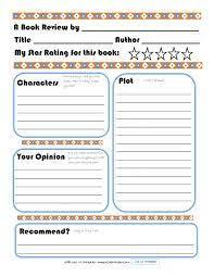 printable book template ks2 book review template for kids pinteres