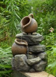 small garden fountain ideas affordable yard fountain ideas