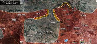 Damascus Syria Map by Syrian Army Captured Airdefence Base In Eastern Damascus