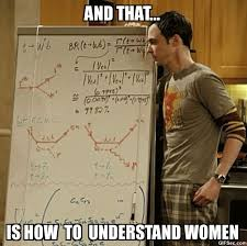 Funny Woman Memes - and that is how to understand women funny woman meme picture