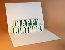 happy birthday pop up card template pictures reference
