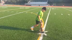 Best Soccer Goals For Backyard 11 Year Old Kid Kicks 35 Yard Field Goals Youtube