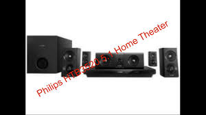 Buy Philips Htb5520 94 5 1 3d Blu Ray Home Theatre Black Online At - philips htb3520 5 1 home theater complete review youtube