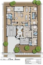 courtyard house plan house plans with courtyard home in middle and casita florida pool