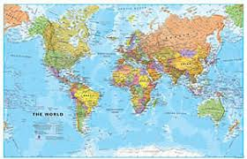 world map by cities mapworks the melbourne map shop wall maps of the world