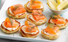 bellini canape 4 easy canapé recipes for your cocktail