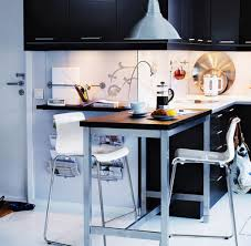 small kitchen black cabinets black cabinet with white chairs and contemporary kitchen tables