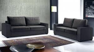 canapé 2 et 3 places pas cher impressionnant canap 3 places 2 canape palermo 32 pvc noir blanc a