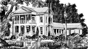 Southern Living Home Plans Franklin House Mouzon Design Southern Living House Plans