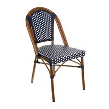 Kirklands Patio Furniture Navy And White Cafe Bistro Chair Kirklands