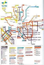melbourne tram map melbourne transportation map melbourne mappery
