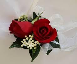 Red Rose Wrist Corsage Corsages Buttonholes Wedding Flower Studio Wedding Florist