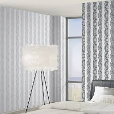 catherine lansfield lace effect wallpaper 3 colours bedroom