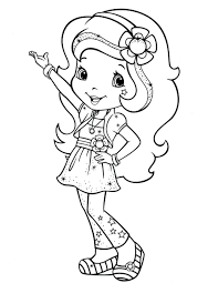 sugar plum coloring pages fairy colouring page strawberry