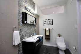 Dark Ocean Pebble Tile Bathroom Backsplash Pebble Tile Shop - Tile backsplash bathroom
