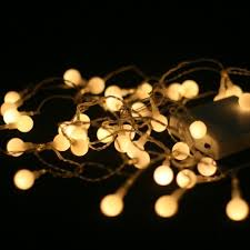 warm white soft white 40 led battery powered fairy lights