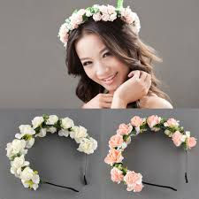 flower hairband bridal flower headbands australia laurel leaf headband hair vine