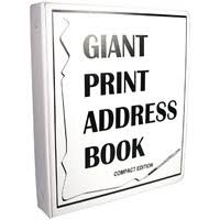 large print books for elderly maxiaids large print address books