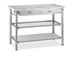 marble top kitchen island cart modular kitchen island with marble top williams sonoma