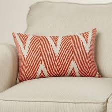 Taupe Color Stag Decorative Lumbar Pillow Charming Brown Antler Motif 100pct