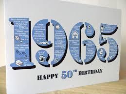 happy 50th birthday card born in 1965 british folksy
