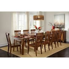 How Tall Is A Dining Room Table A America Toluca Rectangular Extension Dining Table Rustic Amber