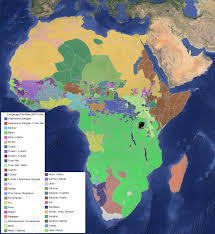World Map Of Africa by Language Families Of Africa U2013 The Decolonial Atlas