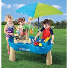 step 2 water table with umbrella costco step2 tropical island resort with umbrella b
