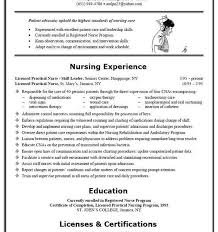 Lvn Skills Resume Lpn Resume Example Resume Example And Free Resume Maker