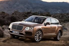 suv bentley 2016 bentley bentayga most expensive suv