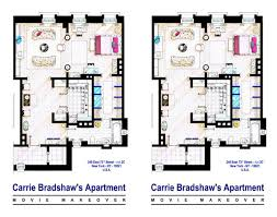new york apartment floor plans check out these 7 floor plans from hit tv shows