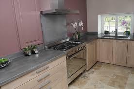 plan de travail cuisine gris cuisine gris anthracite avec plan de travail noir et cr collection