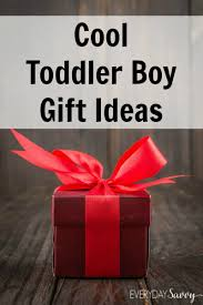 cool gift ideas for toddler boys ages 1 3 everyday savvy