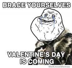 Alone On Valentines Day Meme - memes vault forever alone memes for valentine s day forever alone