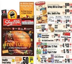 shoprite circular november 23 29 2014 thanksgiving sale