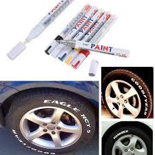 universal waterproof white permanent paint car tyre graffiti