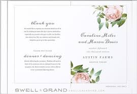 wedding program template free wedding program templates word the free website templates