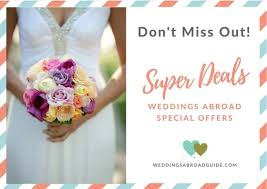 wedding abroad special offers find great deals