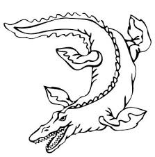 mosasaur coloring pages coloringpagesonly com