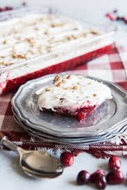 cranberry jello salad with cheese topping house of nash eats