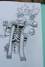 warhammer sketch by emo catboy on deviantart