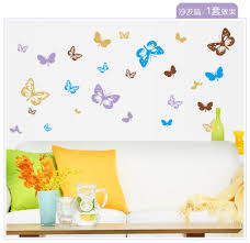 compare prices on decorative butterflies on walls online shopping beautiful 3d butterflies on the wall stickers home decor wall poster adhesive stickers kitchen stickers on