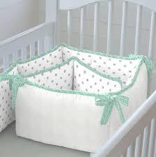 Mint Green Crib Bedding Mint Herringbone Crib Bedding Neutral Baby Bedding Carousel