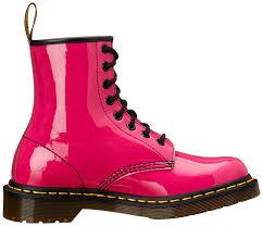 womens pink boots sale dr martens dr marten s original 1460 patent s boots